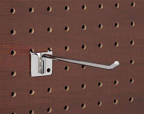 6 inch hanging hooks for pegboard provide long lasting durability