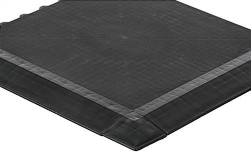 Plastic Interlocking Floor Tiles Sloped Edges