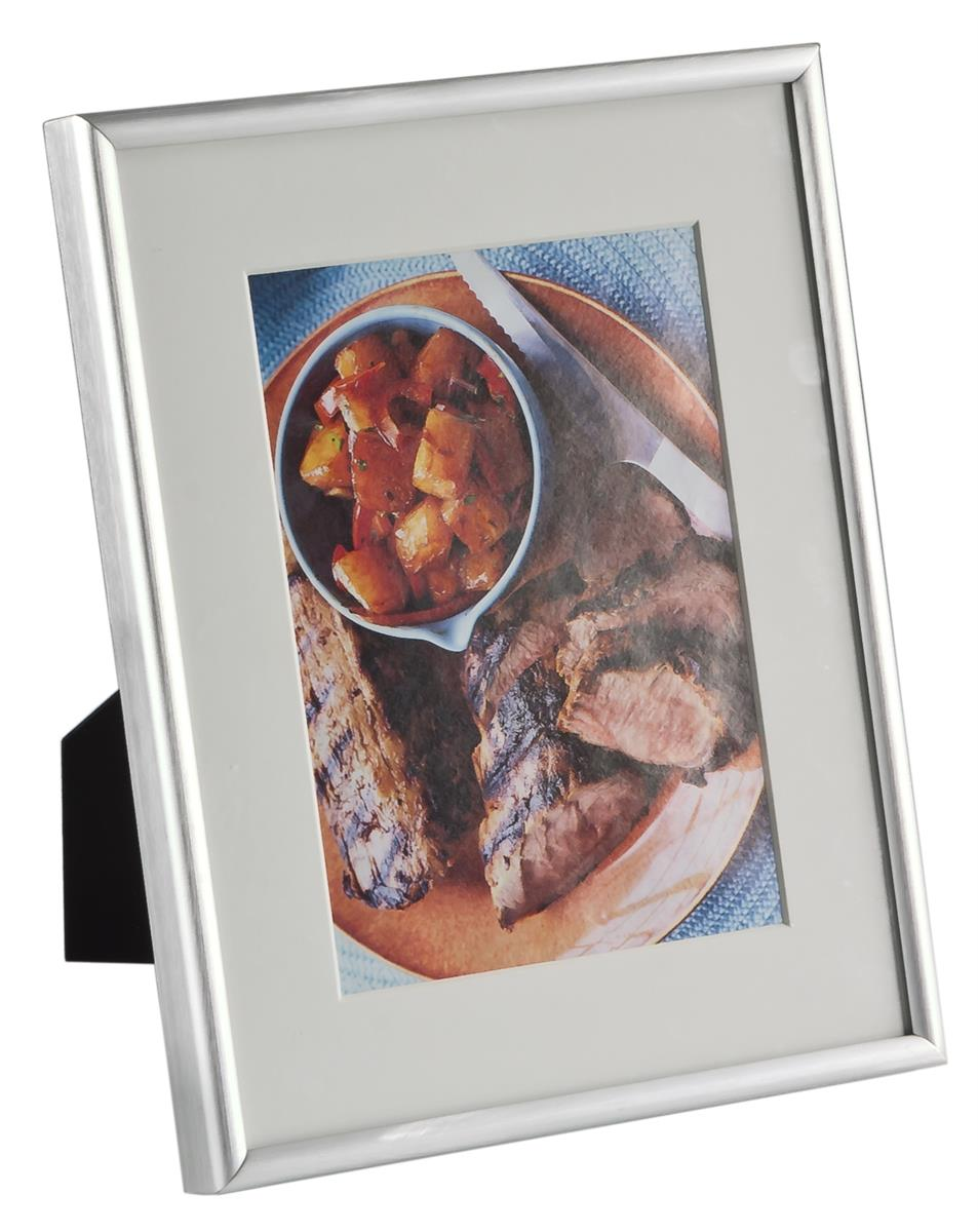 Aluminum Photo Frame w/ Brushed Finish & Matting | 5"|953|1200|?|d9368528e196b0669aae3334769c41f4|False|UNLIKELY|0.3245435357093811