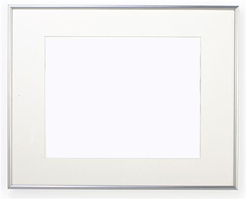 silver picture frame does not is not pewter or sterling silver plated