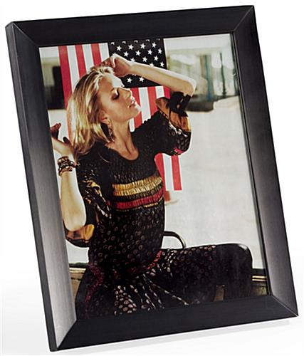 8x10 black picture frames clear glass cover