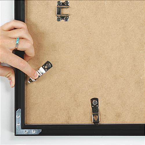 24 x 36 Picture Holder Mounts Vertically or Horizontally on the Wall