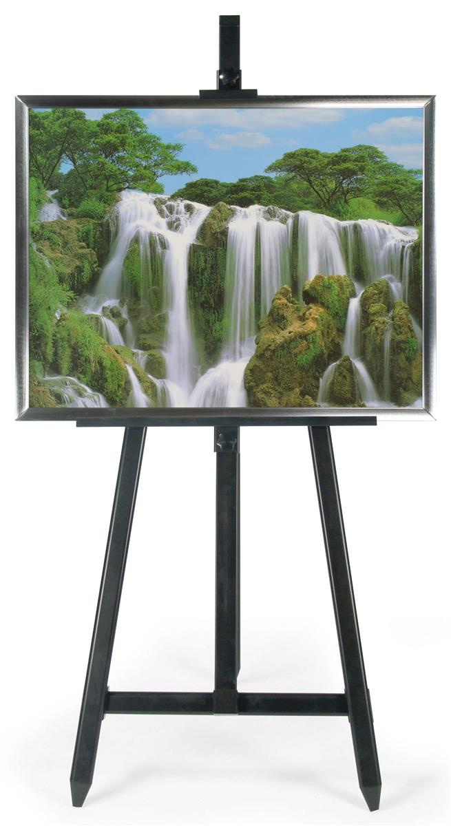 Poster Stand Floor Easel Features Aluminum Poster Frame