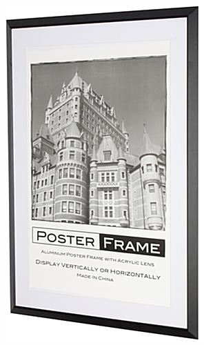 24x36 Frames for Showcasing Ads & Graphics in a Business