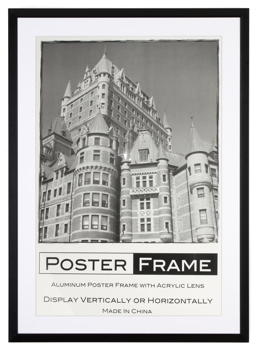 movie poster frame for advertising upcoming films in a theater - Movie Poster Frames 27x40