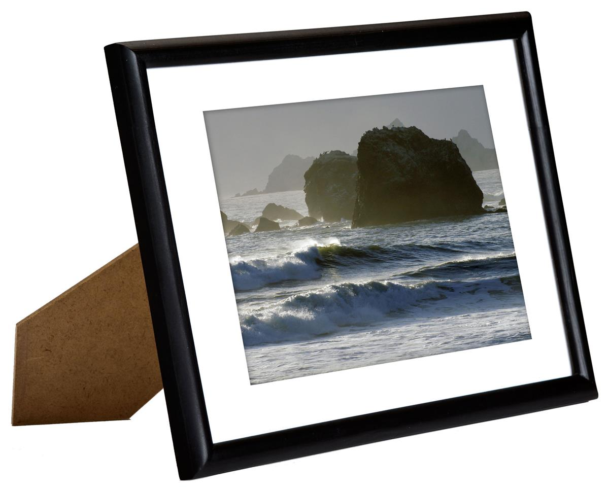 5 Quot X 7 Quot Black Picture Frames Removable Mat Board