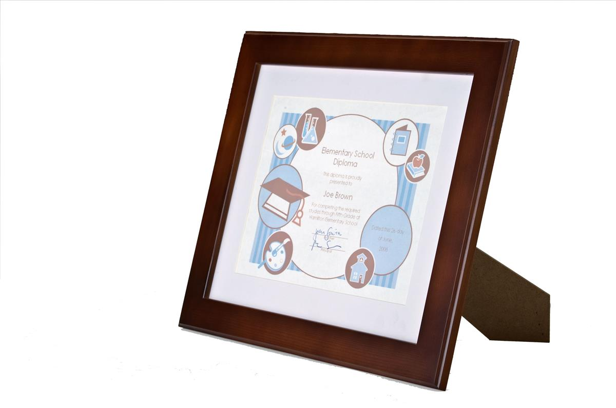 8 5 X 11 Certificate Frame For Displaying Accomplishments