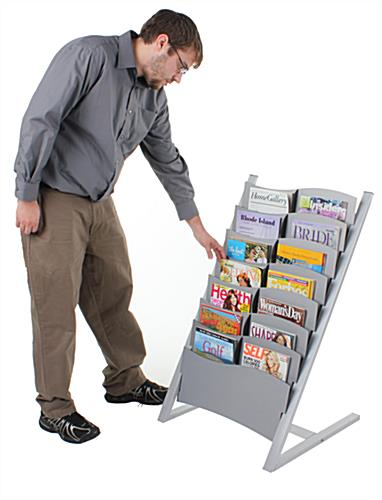 Commercial Magazine Rack