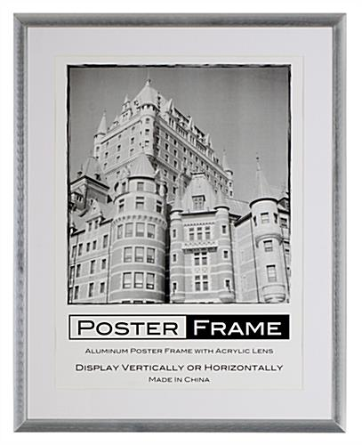 18 x 24 Poster Frame for Wall, Rear Load, 2 Mats(Black u0026 White), 25mm ...