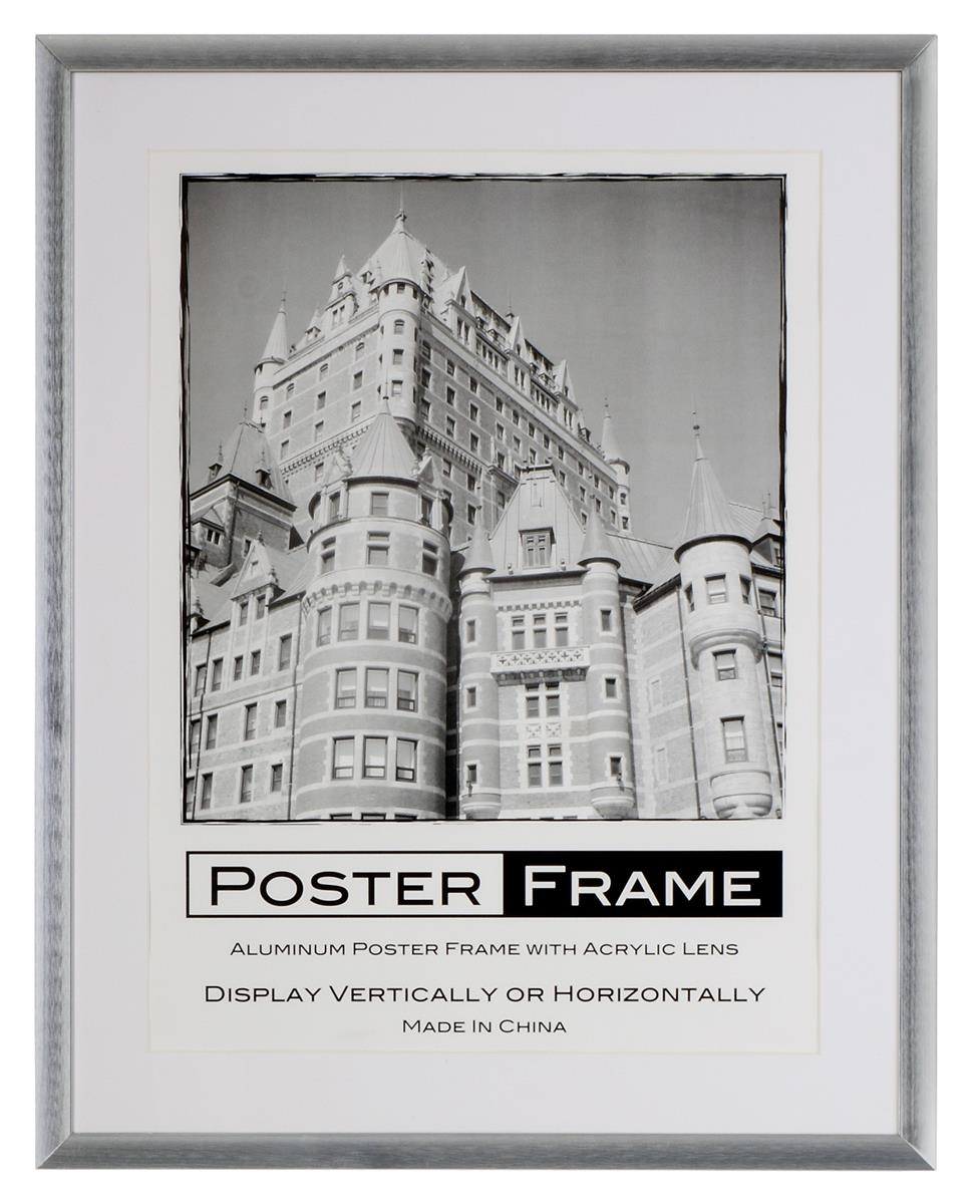 18x24 Picture Frames In Silver Are Shipped With 2 Mats