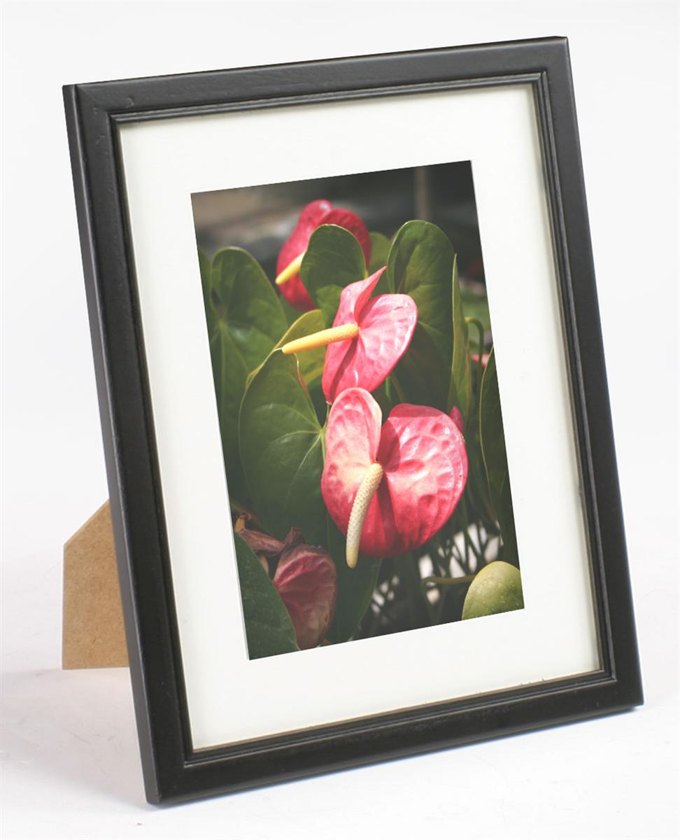 5 x 7 matted picture frame tabletop or wall mount use. Black Bedroom Furniture Sets. Home Design Ideas