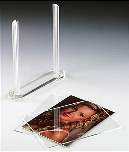Double Sided Photo Frame W Modern Design Fits 5 Quot X 7