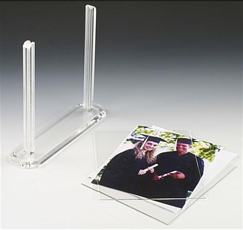 8 x 10 Clear Acrylic Frame for Awards & Achievements