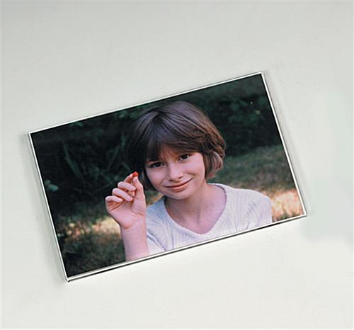 6 x 4 magnet photo holder