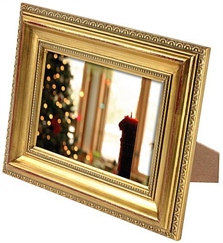 ornate frames w gold finished border 5 x 7. Black Bedroom Furniture Sets. Home Design Ideas