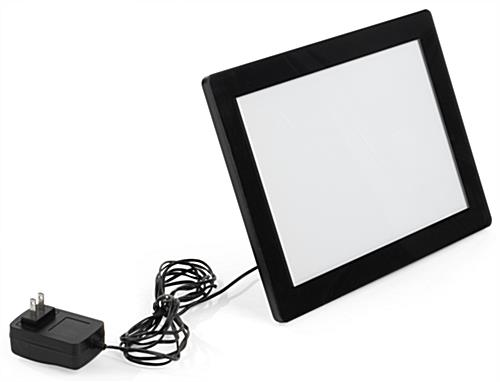 8.5 x 11 Illuminated Photo Frame with Included Power Cord