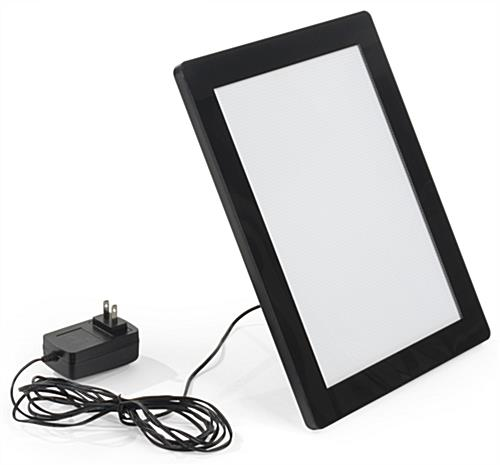 Sleek 8.5 x 11 Illuminated Photo Frame
