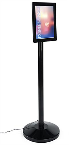 Eye Level 8.5 x 11 LED Sign Stand