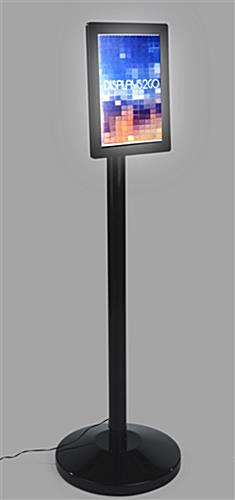 8.5 x 11 LED Sign Stand with Wall Mounting Kit