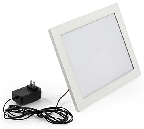 8.5 x 11 LED Frame with Magnetic Face