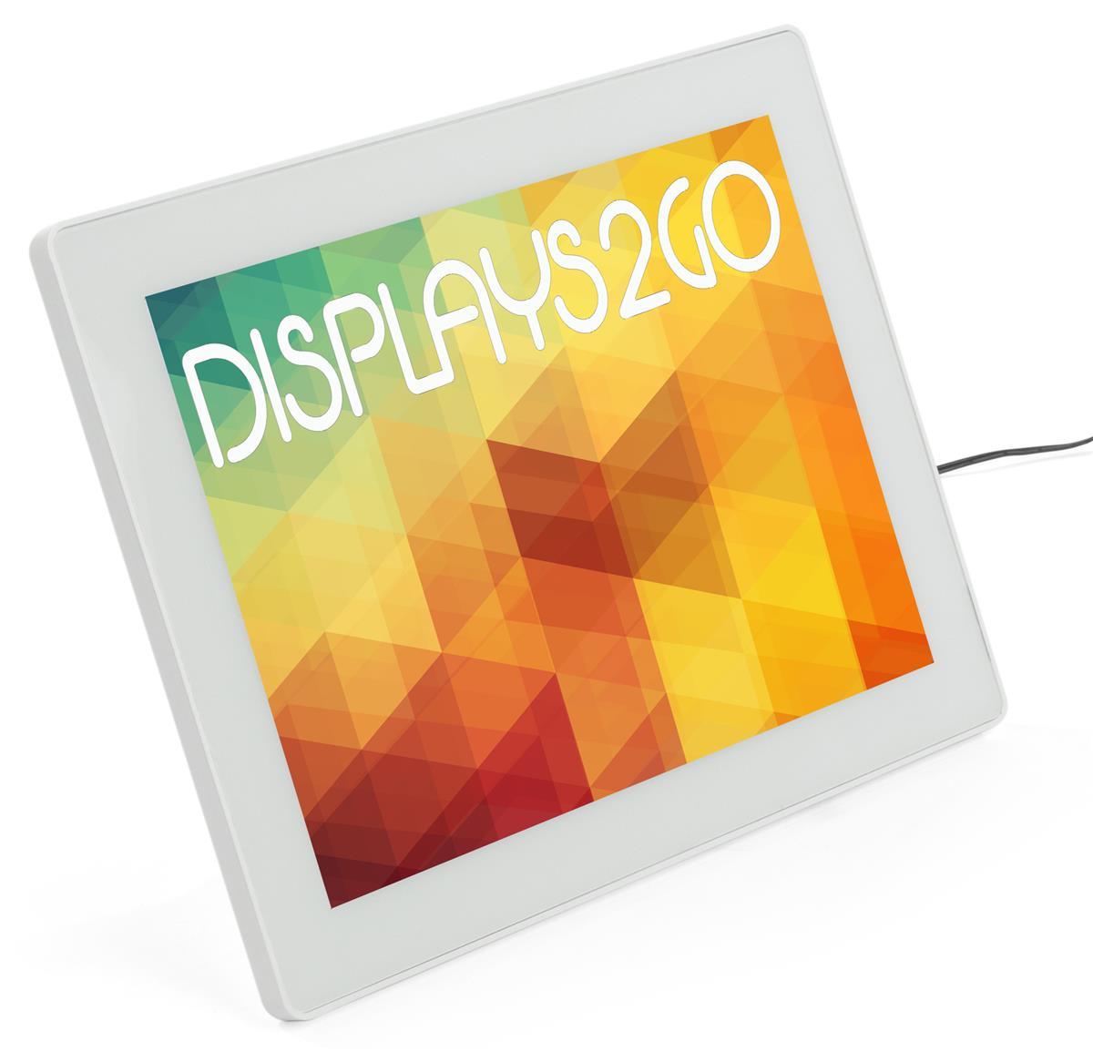 8.5 x 11 LED Frame   Portrait or Landscape Tabletop Easel