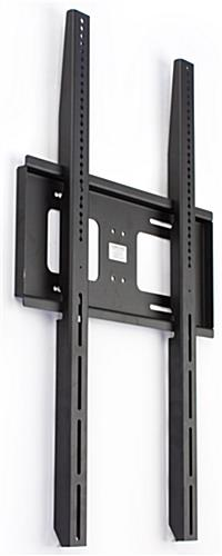 Vertical Tv Mount Slim Black Bracket Portrait Screen