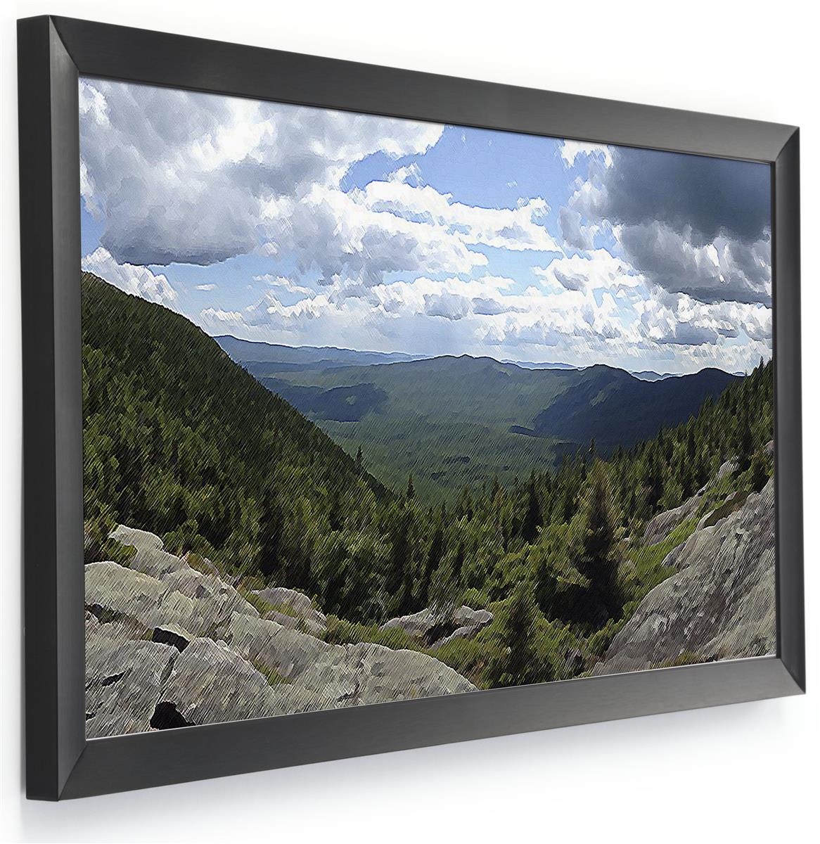 24 X 12 Frame Portrait Or Landscape Wall Mounting