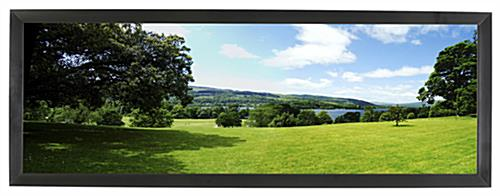 Black Panorama Frame