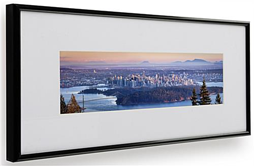 12 X 4 Panoramic Size Frames Wall Mounted