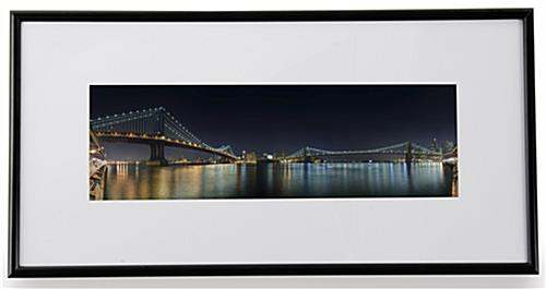 12 Quot X 4 Quot Panoramic Size Frames Wall Mounted