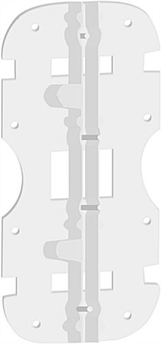 Corrugated Plastic Mounting Bracket