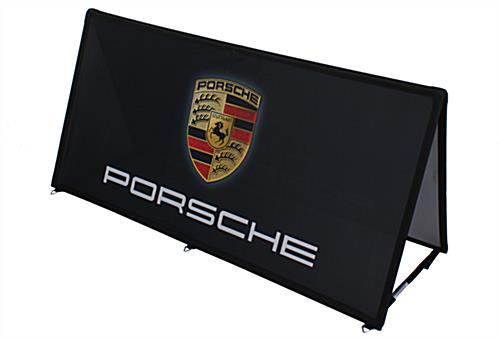 Custom Pop Up Banner Indoor Or Outdoor Display