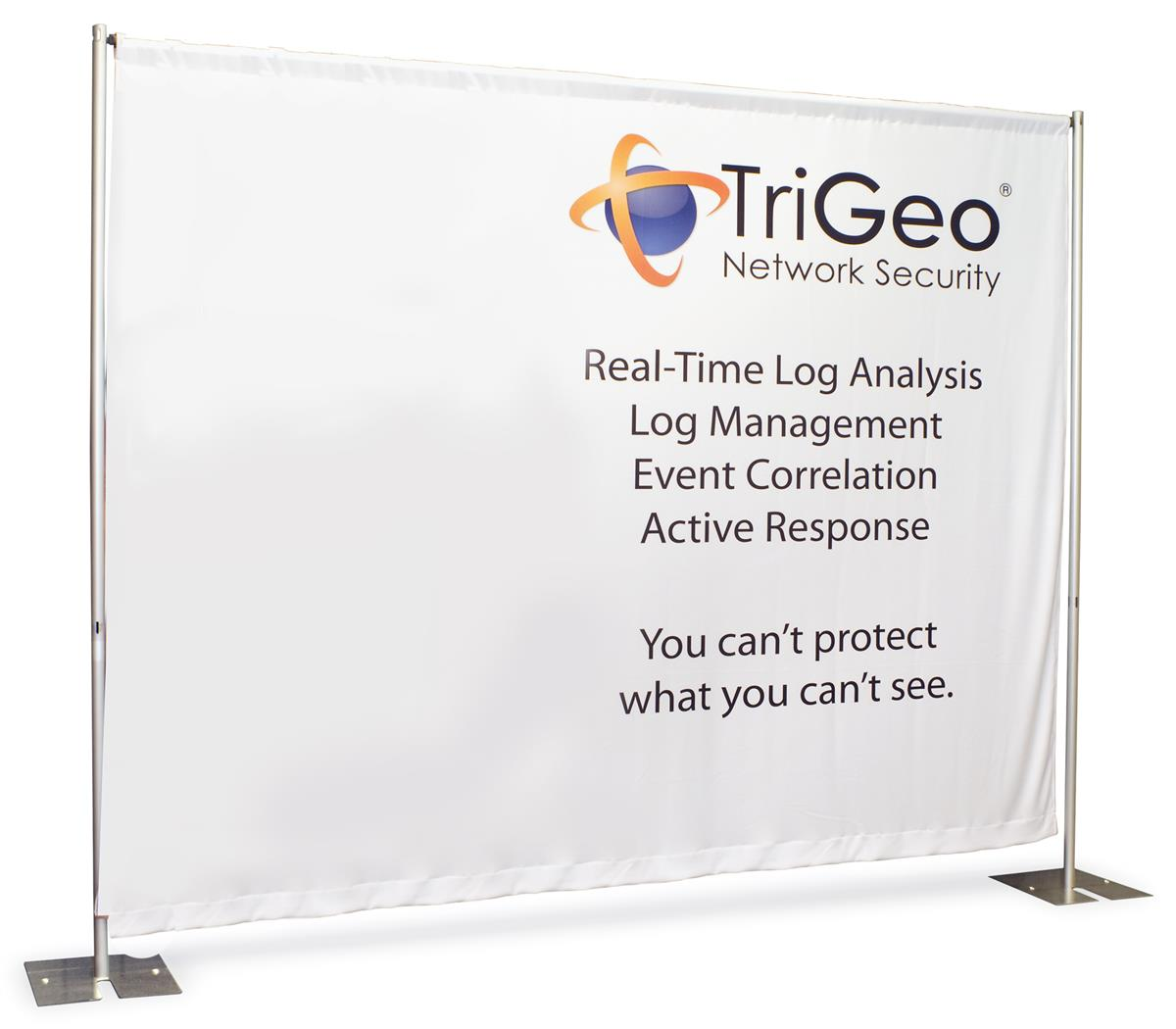 Displays2go 8' Custom Printed Banner for Trade Show Backd...