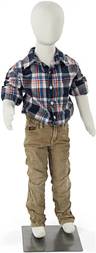 Abstract and Bendable Child Mannequin