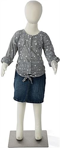Adjustable Child Mannequin for Kids Ages 6 to 7