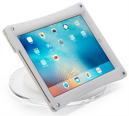 iPad Pro Desk Mount with Horizontal Orientation