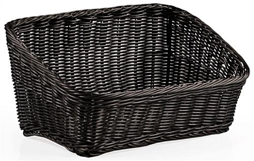 countertop wicker basket