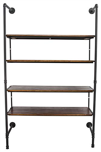 Mounted Industrial Retail Wall Shelves