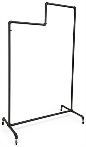 Pipe Double Tier Ballet Rack with Welded Design