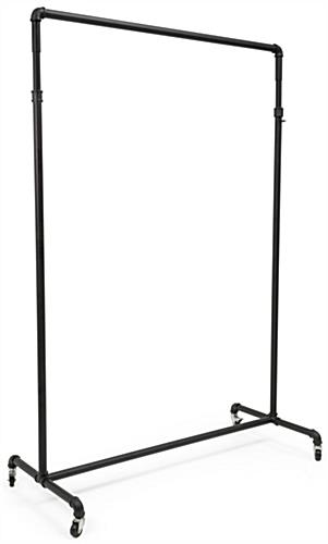 Pipe Ballet Bar Clothing Rack with Welded Edges