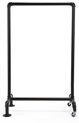 24 x 36 black aluminum pipe sign frame with modern aesthetic