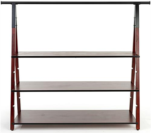Wooden a frame clothes rail with modern design