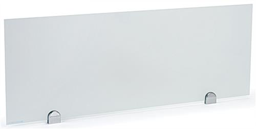 Glass privacy markerboard partition with write-on capabilities