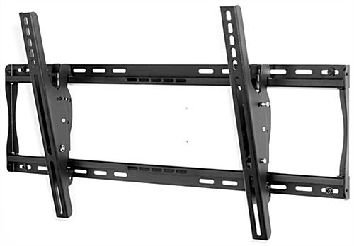 Black outdoor TV wall mount