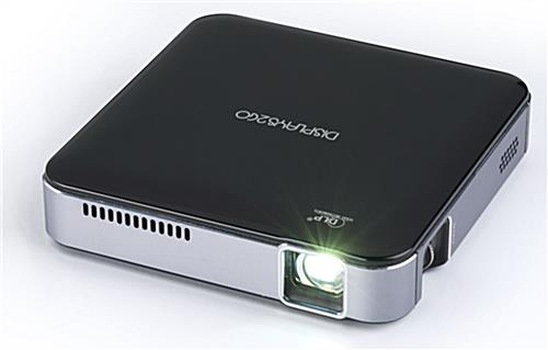 Pico Projector with built-In rechargeable battery