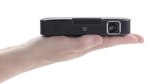 Pocket projector with two one Watt speakers