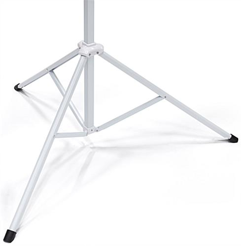"108"" Tripod Retractable Projector Screen with Sturdy Base"