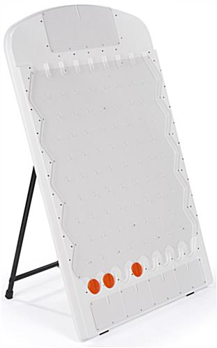 Floor Standing Lighted Prize Drop Board