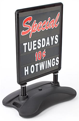 Snap-In Sidewalk Sign Frame