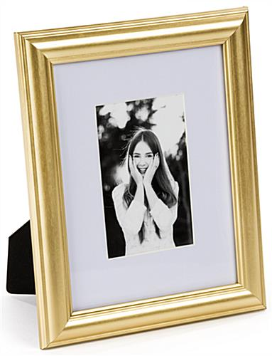 Gold Color Picture Frame for Portrait Orientation